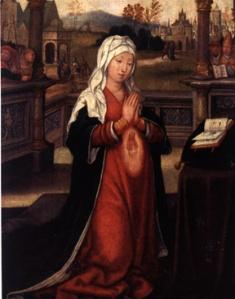 Saint Anne conceiving the Virgin Mary Douai, Musée de la Chartreuse