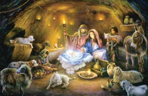 No Room at the Inn. Part of the Nativity series by Tom Dubois